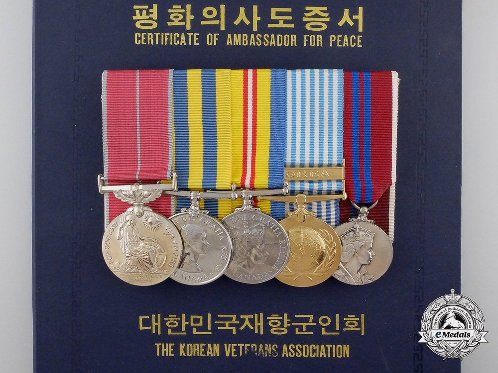 eMedals-A Canadian British Empire Medal Group