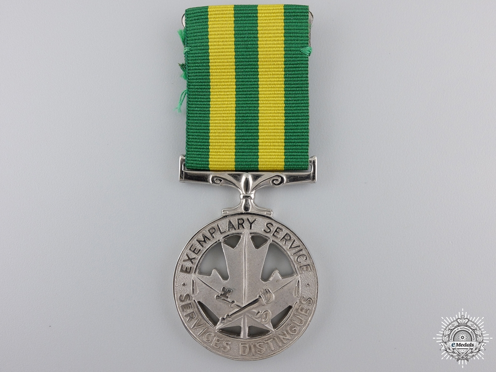 eMedals-A Canadian Corrections Exemplary Service Medal to D.F.Ayling