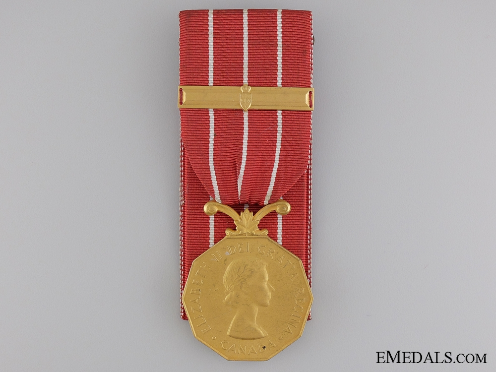 eMedals-A Canadian Forces Decoration to Sgt. Macguire