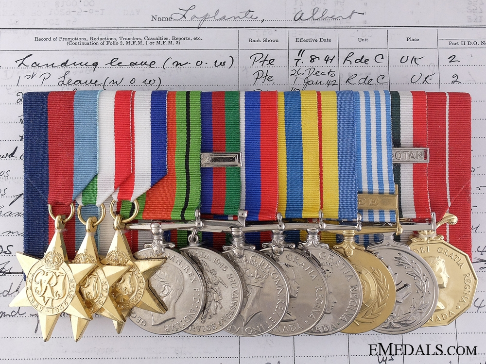 eMedals-A Canadian Korean War Group to the 22nd Regiment