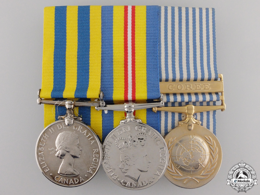 eMedals-A Canadian Korean Conflict Medal Group to the Royal 22nd Regiment