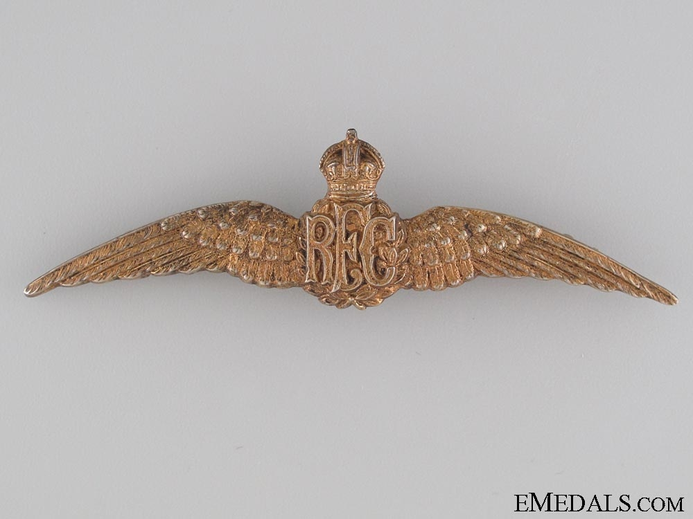 eMedals-A Canadian Made Royal Flying Corps Wings