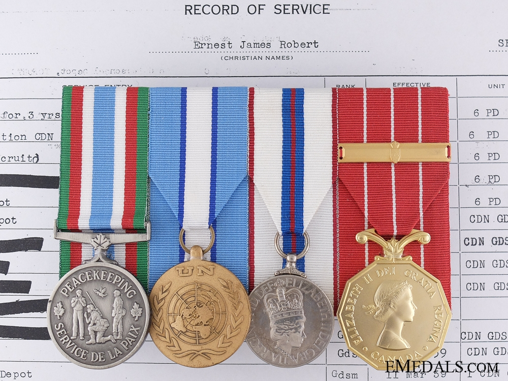 eMedals-A Canadian Peacekeeping Service Group