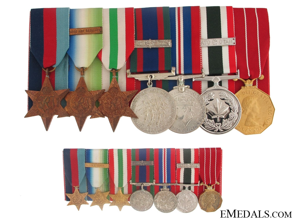 eMedals-A Canadian Second War Group of Seven
