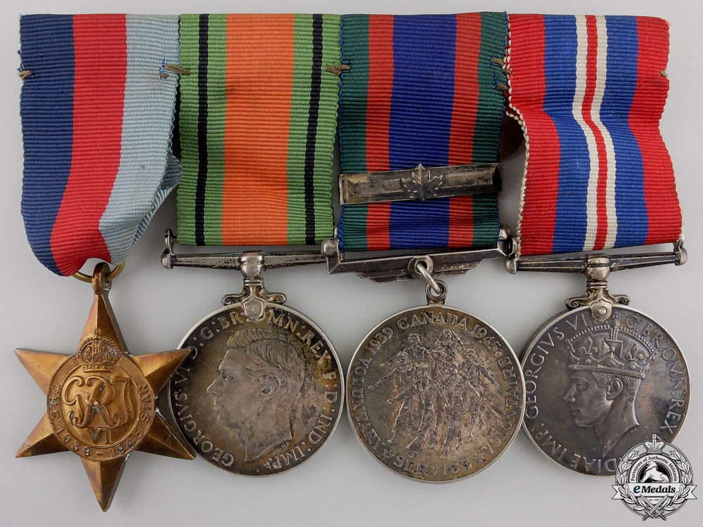 eMedals-A Canadian Second War Group to the 48th Highlanders