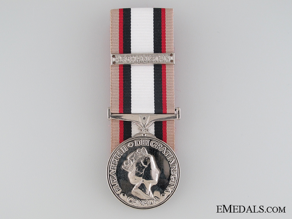 eMedals-A Canadian South-West Asia Service Medal
