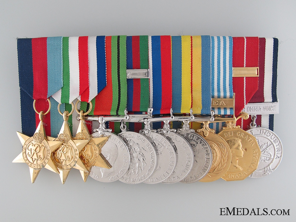 eMedals-A Canadian WWII & Korean War Service Group