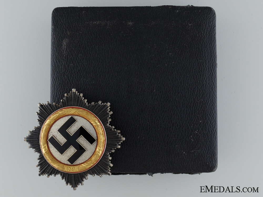 eMedals-A Cased German Cross in Gold by Otto Klein