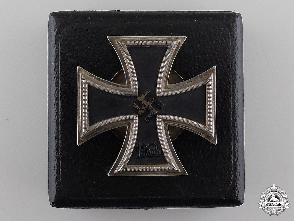 eMedals-A Cased Iron Cross First Class by C. F. Zimmermann