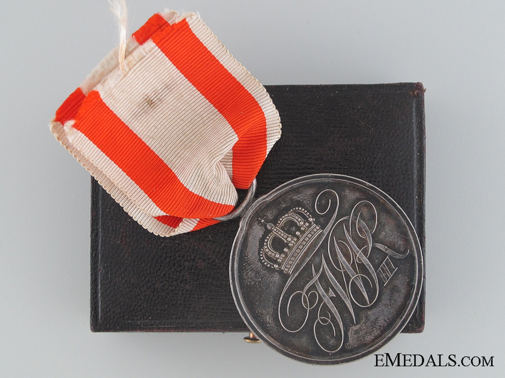 eMedals-A Cased Prussian Military Merit Medal