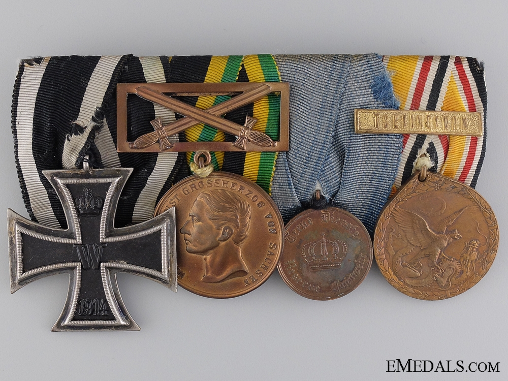 eMedals-A China Service Germany Imperial Medal Bar