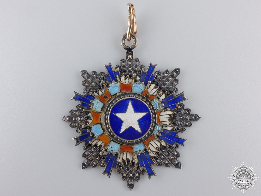 eMedals-A Chinese Order of the Brilliant Star; Second Class