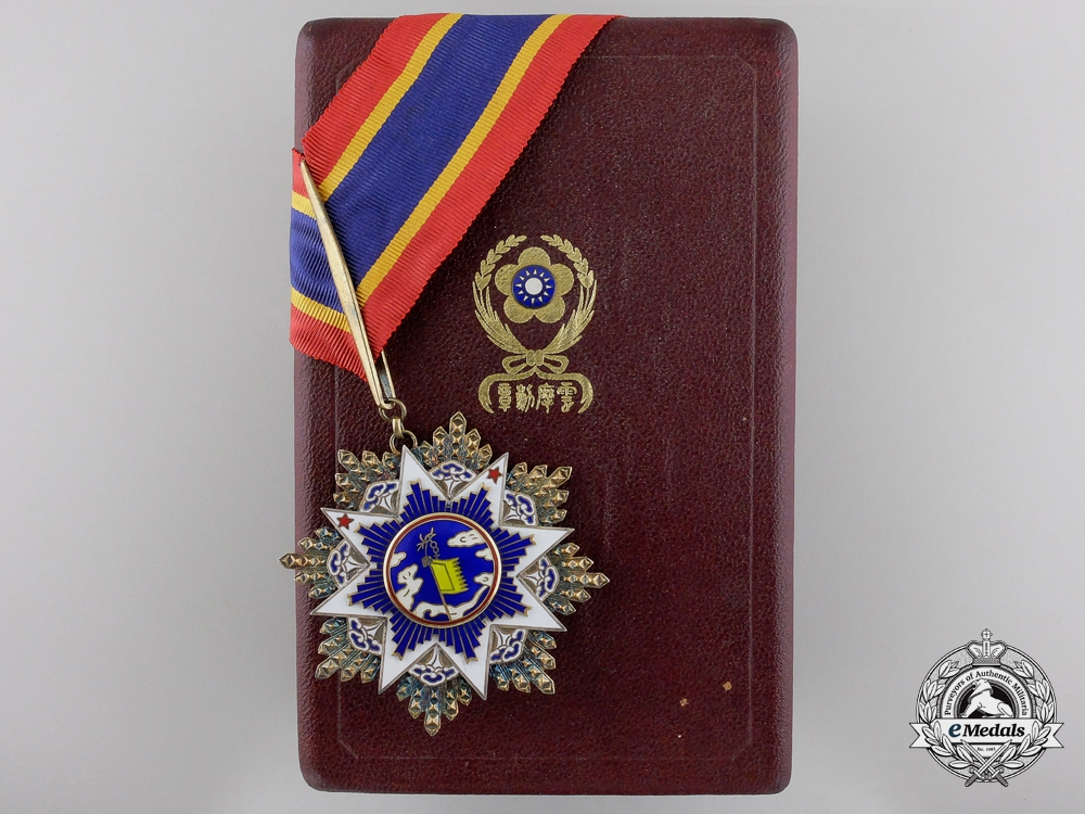 eMedals-A Chinese Order of the Resplendent Banner; 5th Class Commander