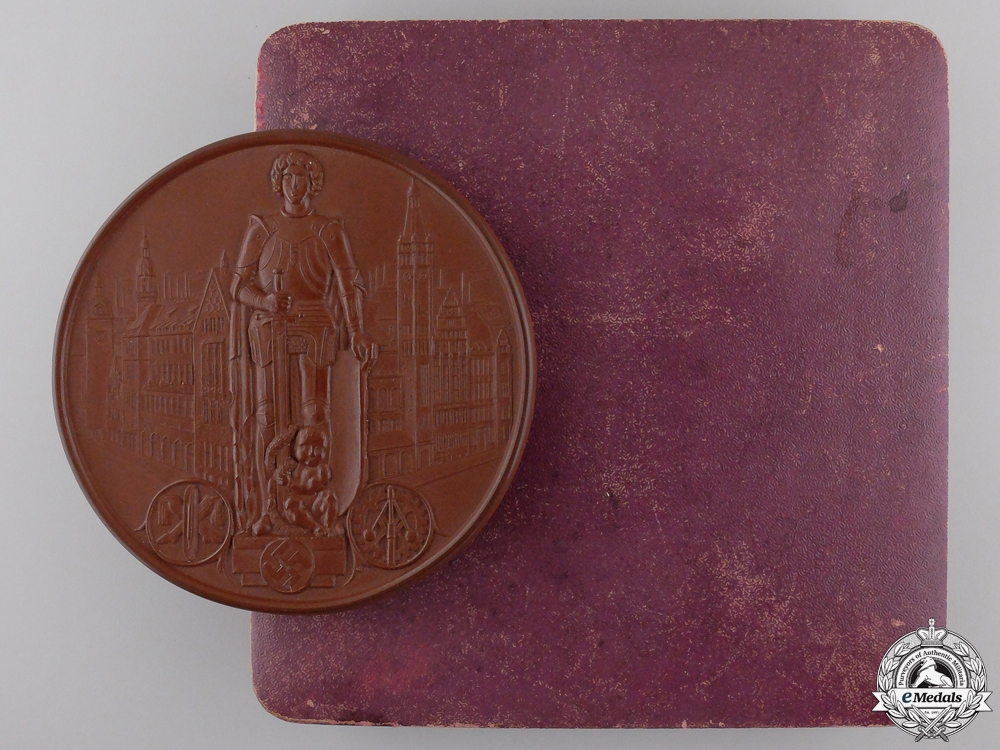 eMedals-A City of Chemnitz Industry and Trade Honour Medal