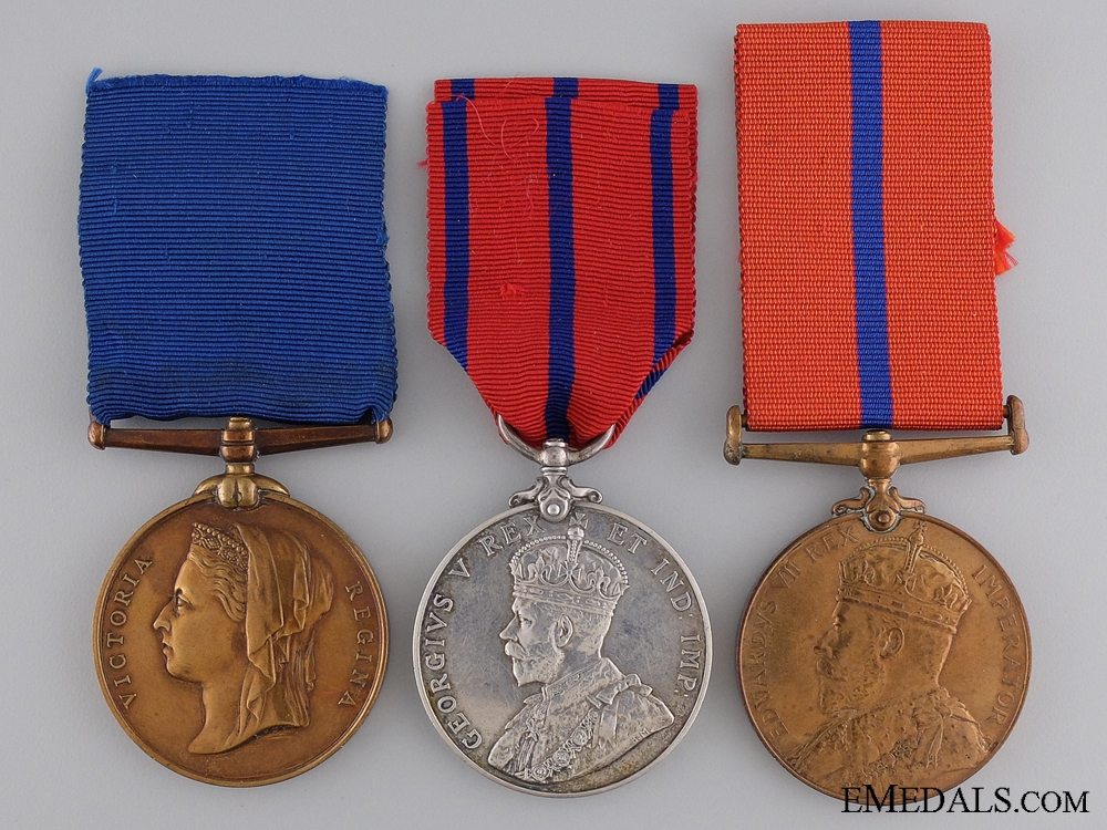 eMedals-A City of London Police Trio to Constable J. Martin