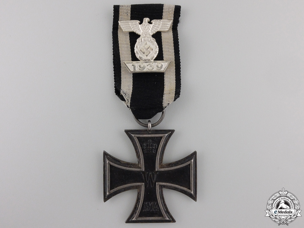 eMedals-A Clasp to the Iron Cross 2nd Class1939; Reduced Version