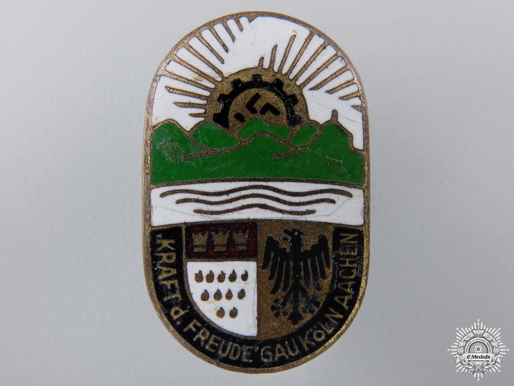 eMedals-A Cologne & Aachen DAF Craft Competition Badge