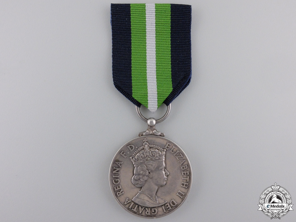 eMedals-A Colonial Prison Service Long Service Medal