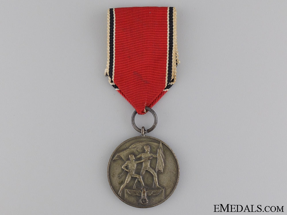 eMedals-A Commemorative Medal for 13 March 1938; Marked
