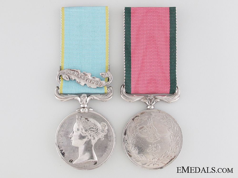 eMedals-A Crimean War Pair to the 46th Regiment of Foot