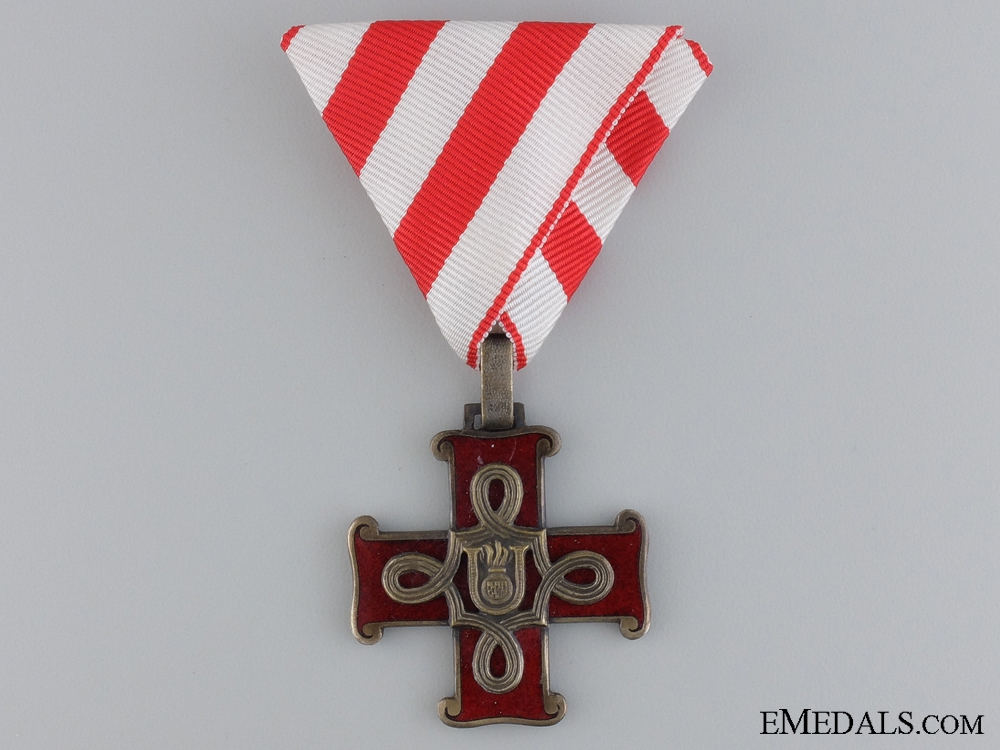 eMedals-A Croatian Order of Merit; Christain Version
