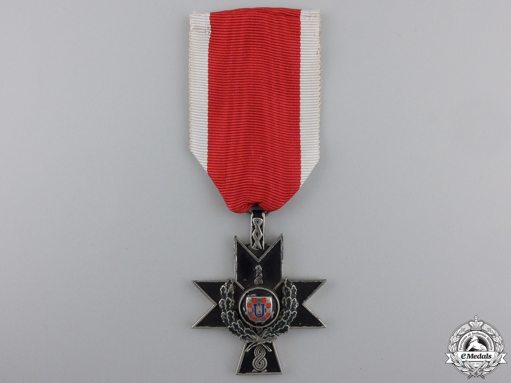 eMedals-A Croatian Order of Iron Trefoil with Oak Leaves