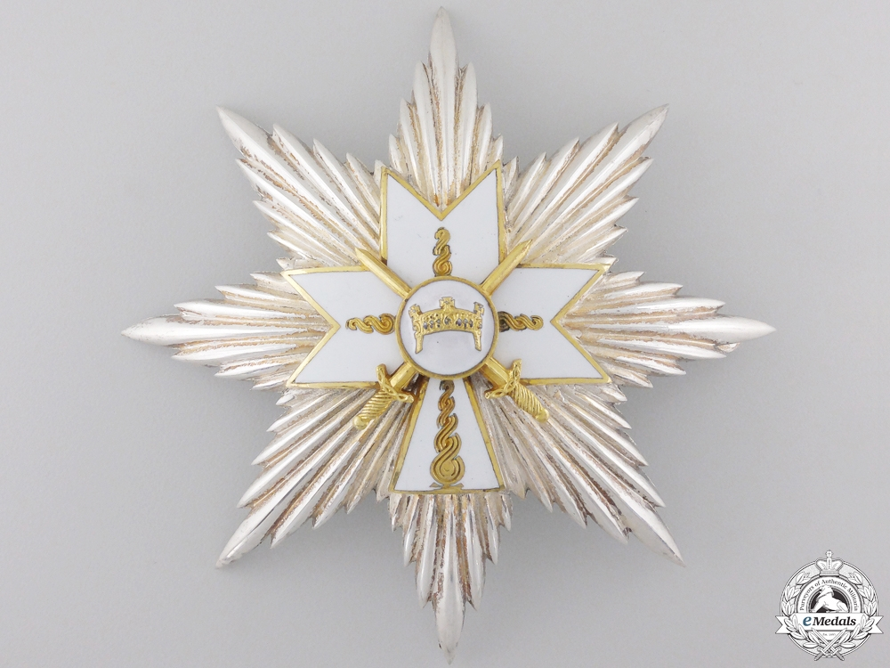 eMedals-A Croatian Order of King Zvonimir; Grand Cross Star with Swords