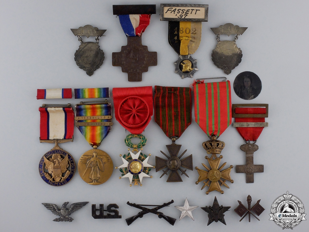 eMedals-A DSM Group to Brigadier General William Mason Fassett; 37th Infantry Division