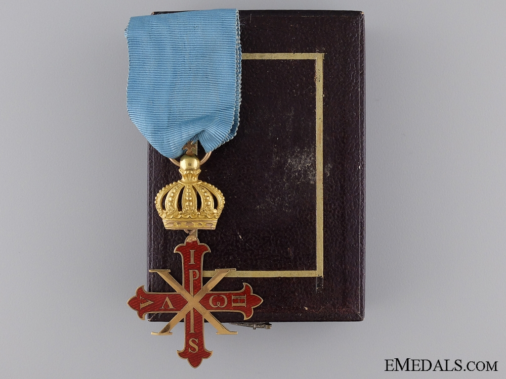 eMedals-An Italian Order of Constantine of St.George; Duchy of Parma