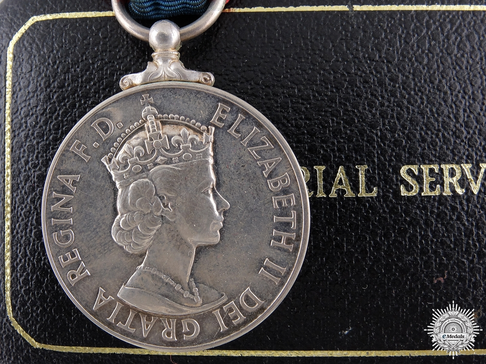 eMedals-A Elizabeth II Imperial Service Medal to H.C. Wherly