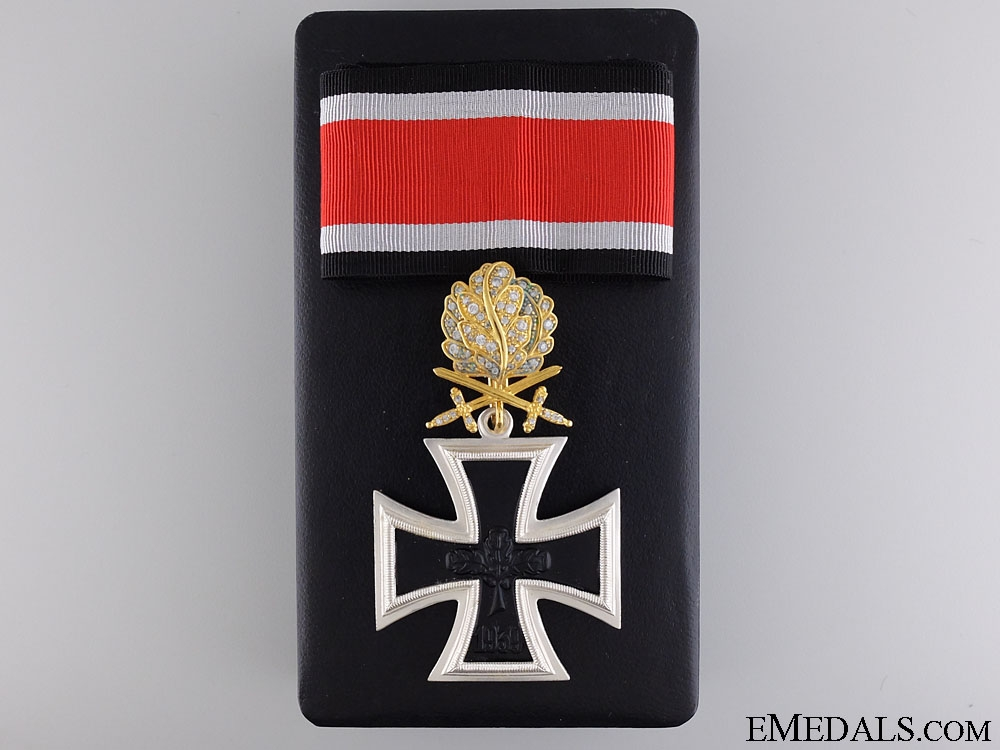 eMedals-A Federal Republic Knight's Cross of the Iron Cross; 1957 Issue