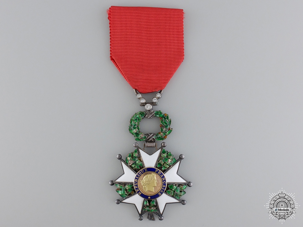 eMedals-A Fine French Legion D' Honneur with Diamonds
