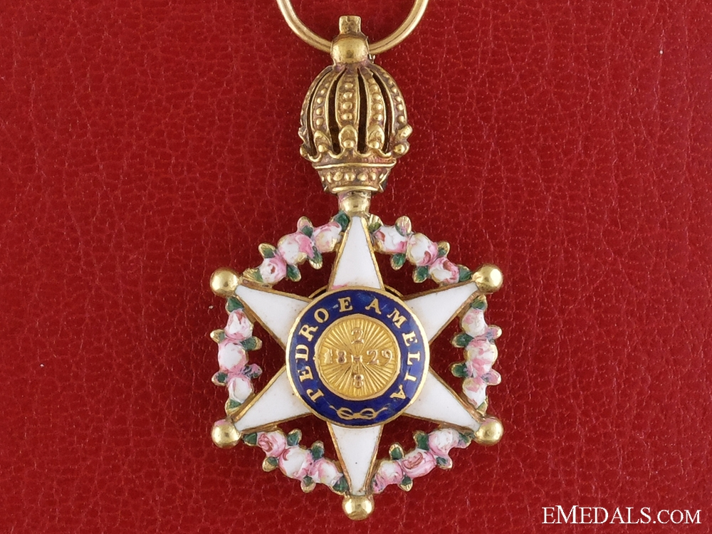 eMedals-A Fine Gold & Reduced Sized Brazilian Order of the Rose