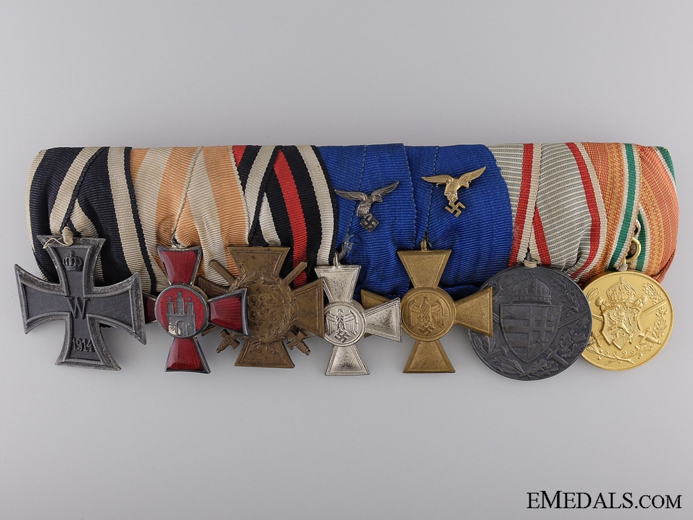 eMedals-A Fine Imperial German Group of Seven