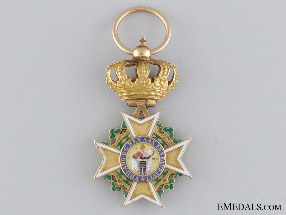eMedals-A Fine Napoleonic Period Saxon Order of St. Henry