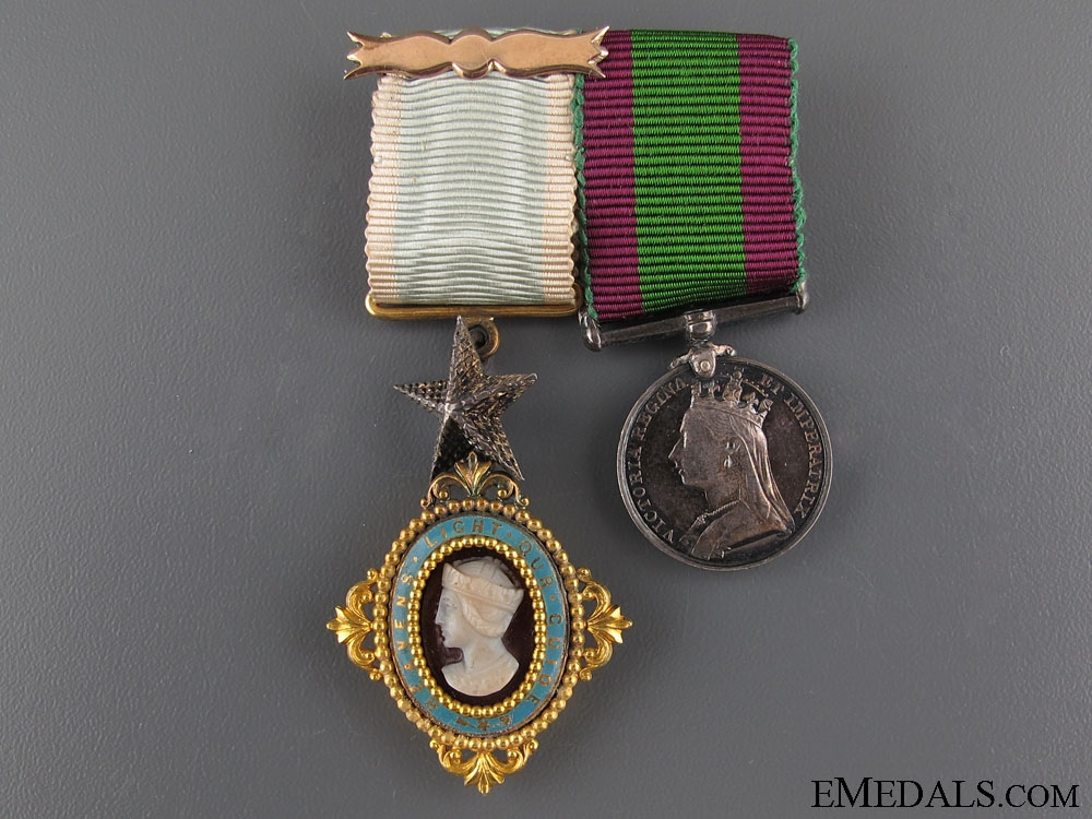 eMedals-A Fine Order of the Star of India Miniature Pair