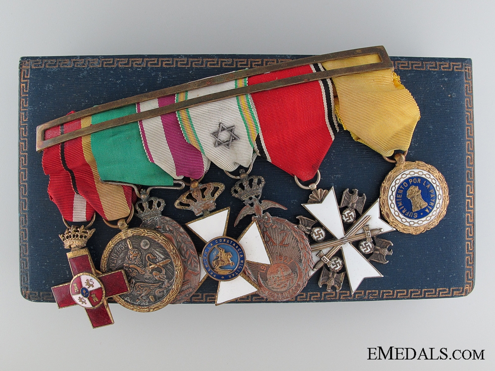 eMedals-A Fine Spanish Civil War & German Eagle Order Bar