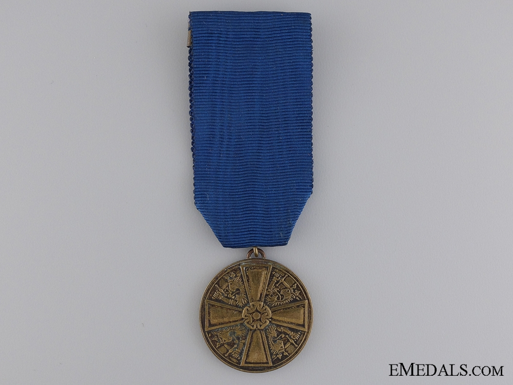 eMedals-A Finish Order of the White Rose; Merit Medal