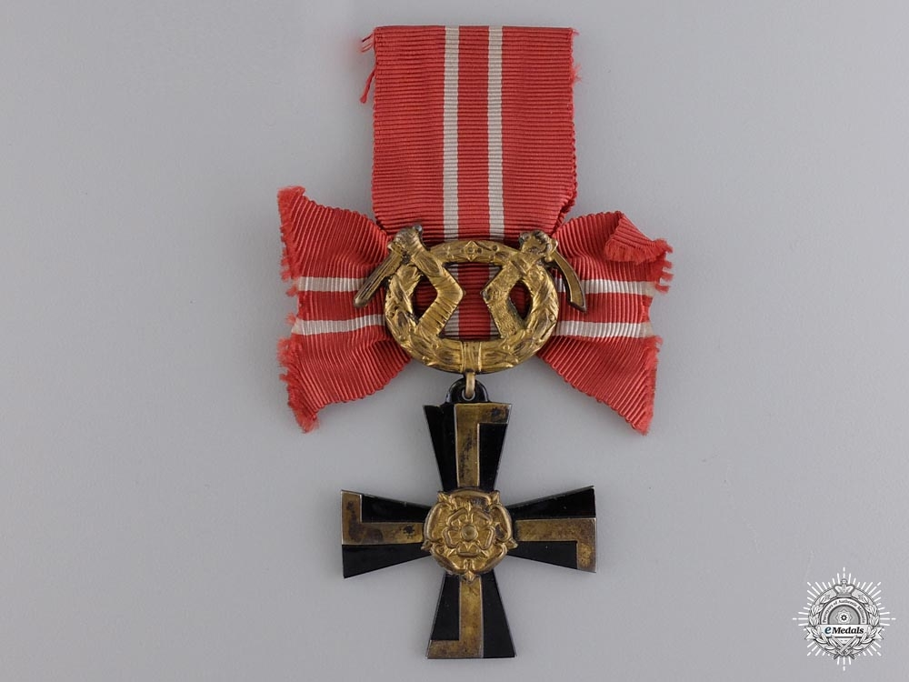 eMedals-A Finnish Order of the Cross of Liberty; Fourth Class