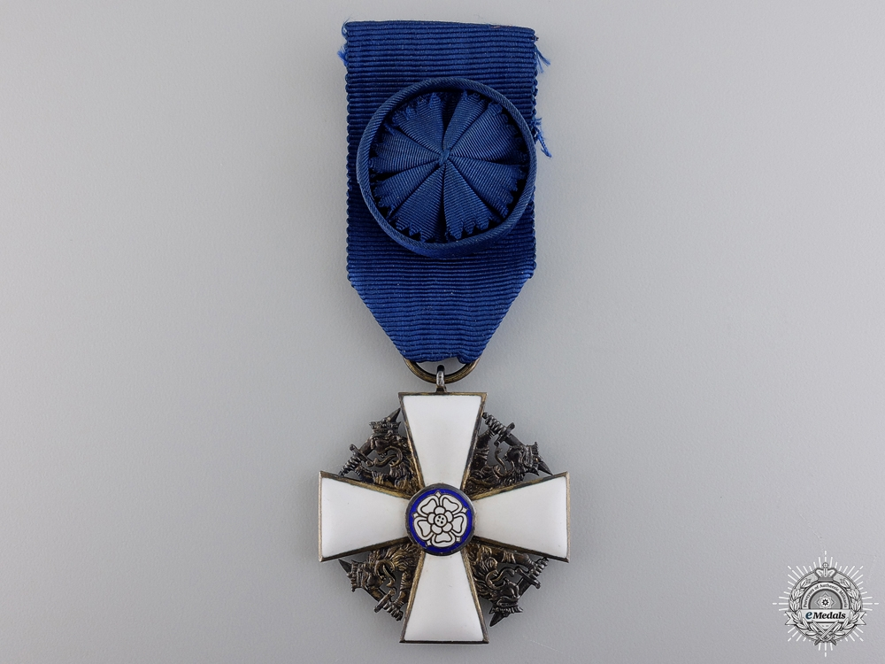 eMedals-A Finnish Order of the White Rose; Knight 1st Class