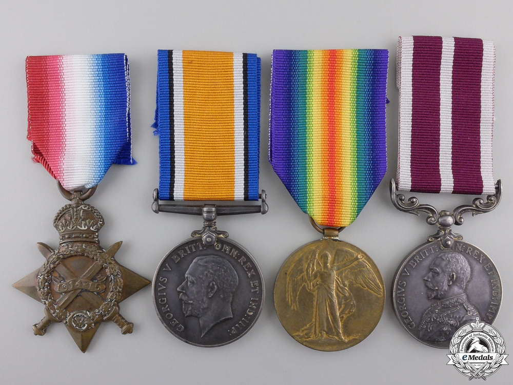 eMedals-A First Canadian Meritorious Service Group to the 5th Battalion  Consignment #36