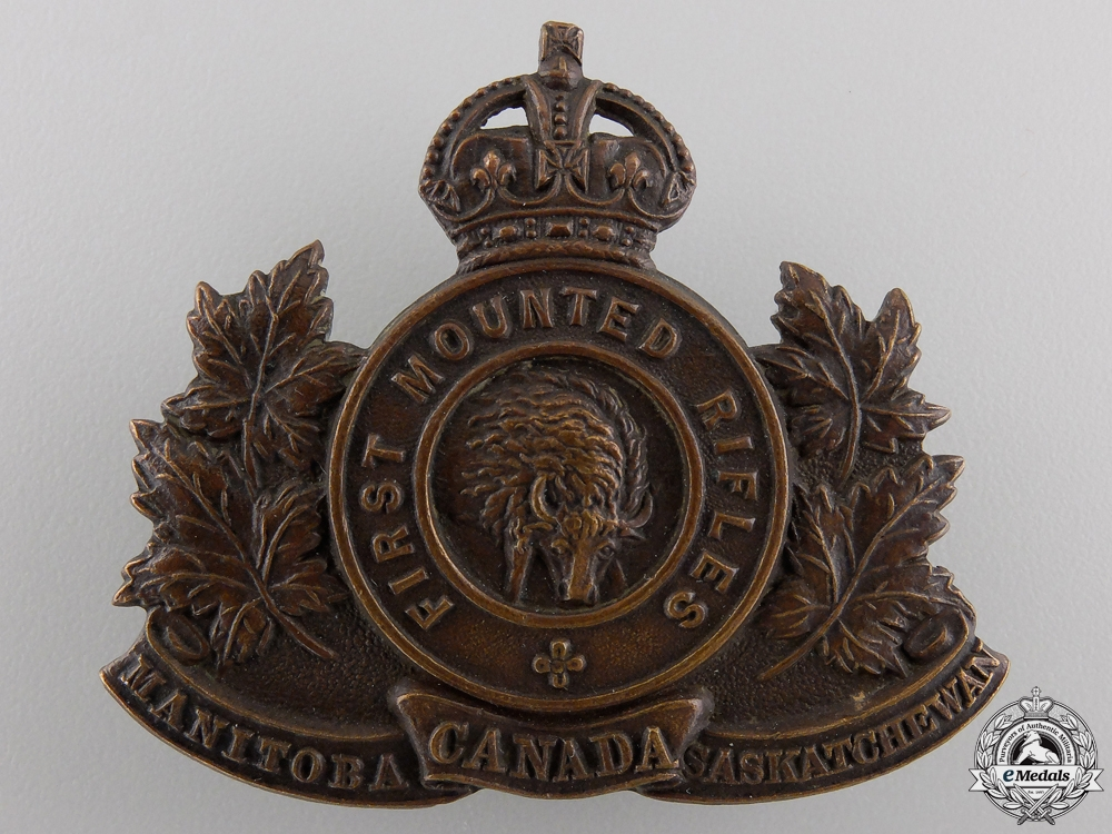 eMedals-A First War 2nd Mounted Rifle Battalion Cap Badge