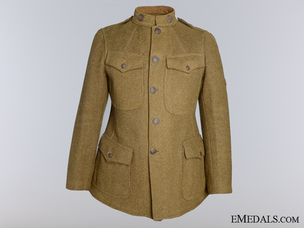 eMedals-A First War American 3rd Army; 32nd Division Doughboy Tunic
