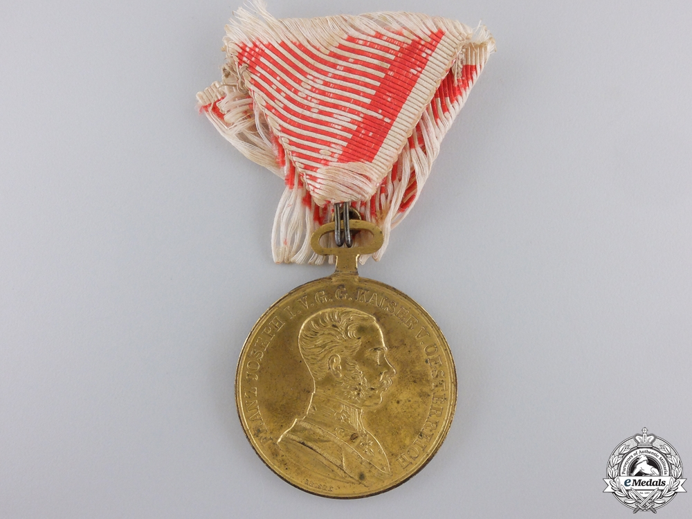 eMedals-A First War Austrian Golden Bravery Medal