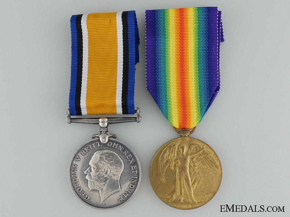 eMedals-A First War Canadian Pair to the 69th Infantry Battalion CEF