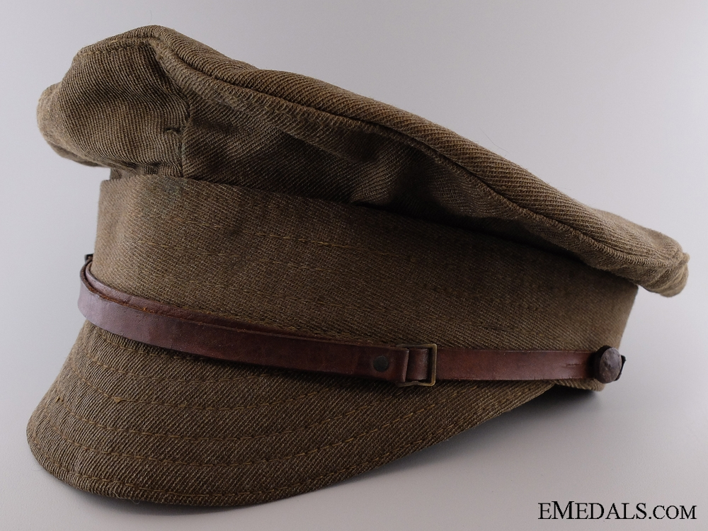 eMedals-A First War Canadian Trench Cap 1918 by Schneiders & Sons