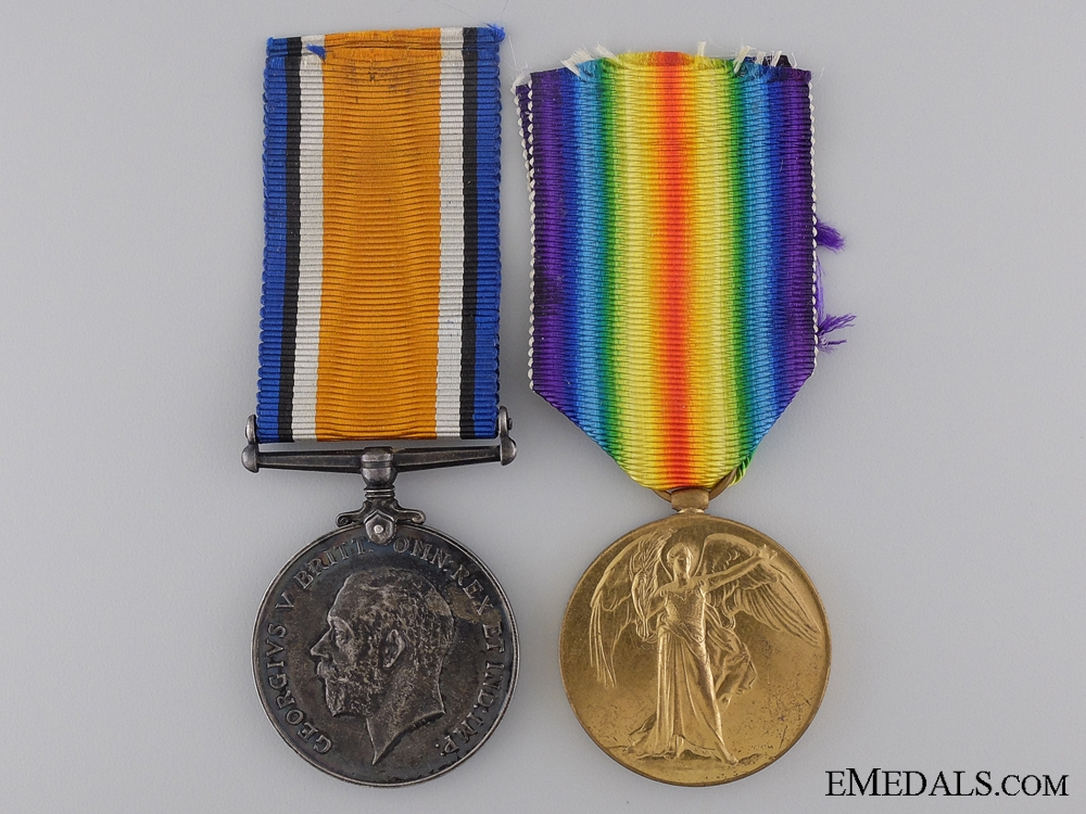 eMedals-A First War Canadian Medal Pair to Major Strong C.A.M.C.   Consgin: 17