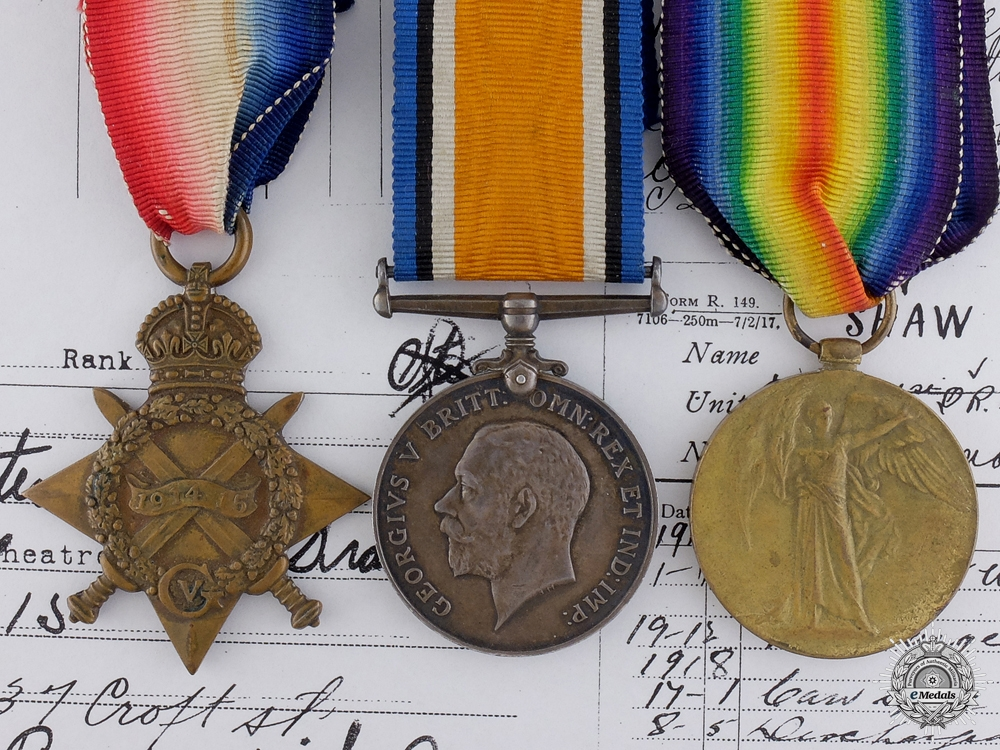 eMedals-A First War Canadian Group to the 14th Infantry Battalion