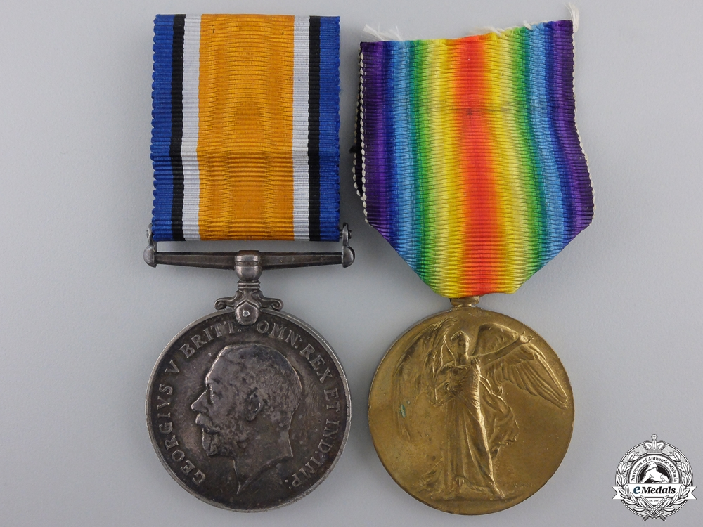 eMedals-A First War Canadian Pair to Lt. Ritchie; 2nd Battalion CEF