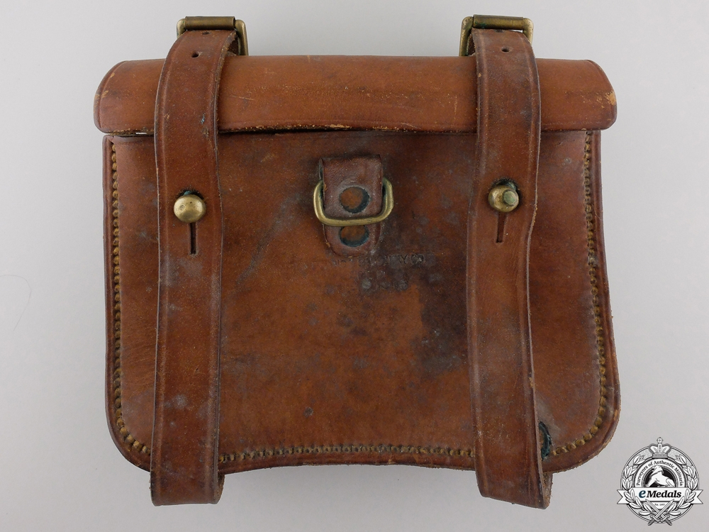eMedals-A First War Canadian Cavalry Pouch